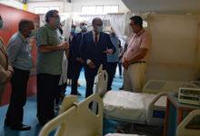 Photo of المشيشي يؤدي زيارة فجئية للمستشفى الطارئ بمركب المنزه